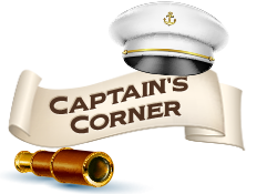 Captain's Corner » Read the ship's log