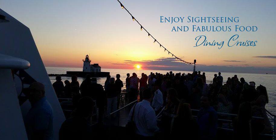 Dining Cruises. Enjoy sightseeing and fabulous food.